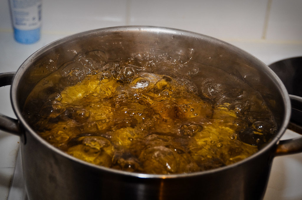 Ziemniaki w garnku