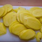 Ziemniaki w plasterkach