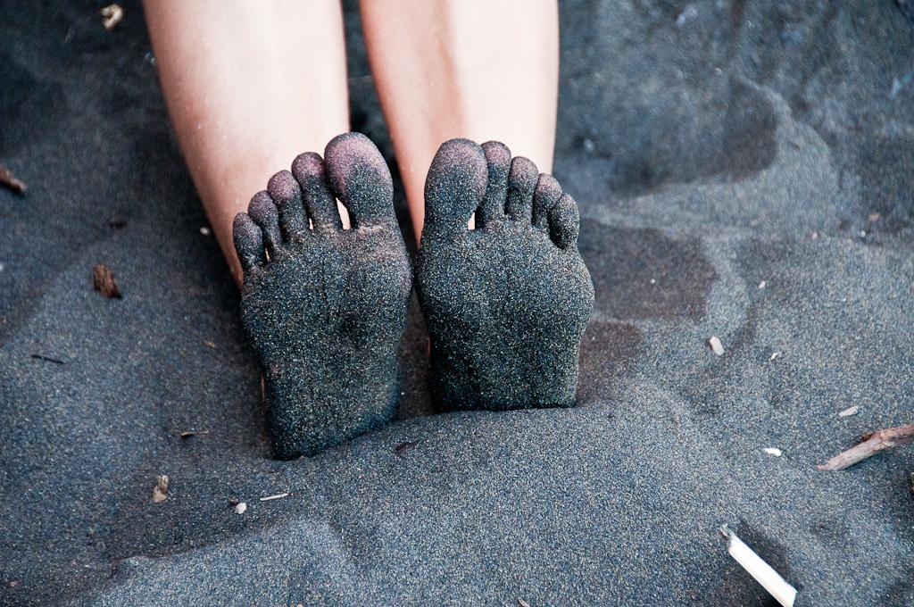 Nogi po spacerze :)
