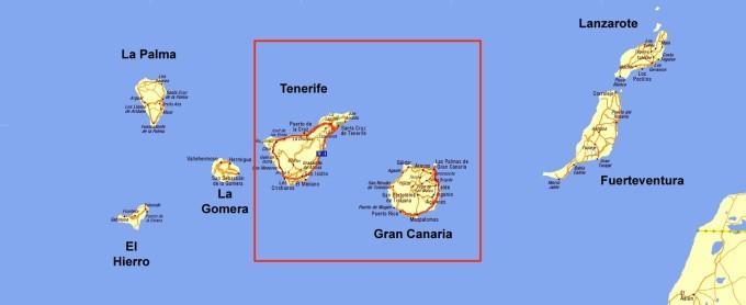 Wyspy środkowe: Teneryfa i Gran Canaria