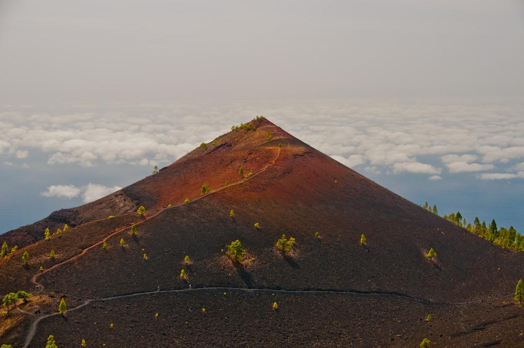 La Palma - trekking  po wulkanach wśród chmur