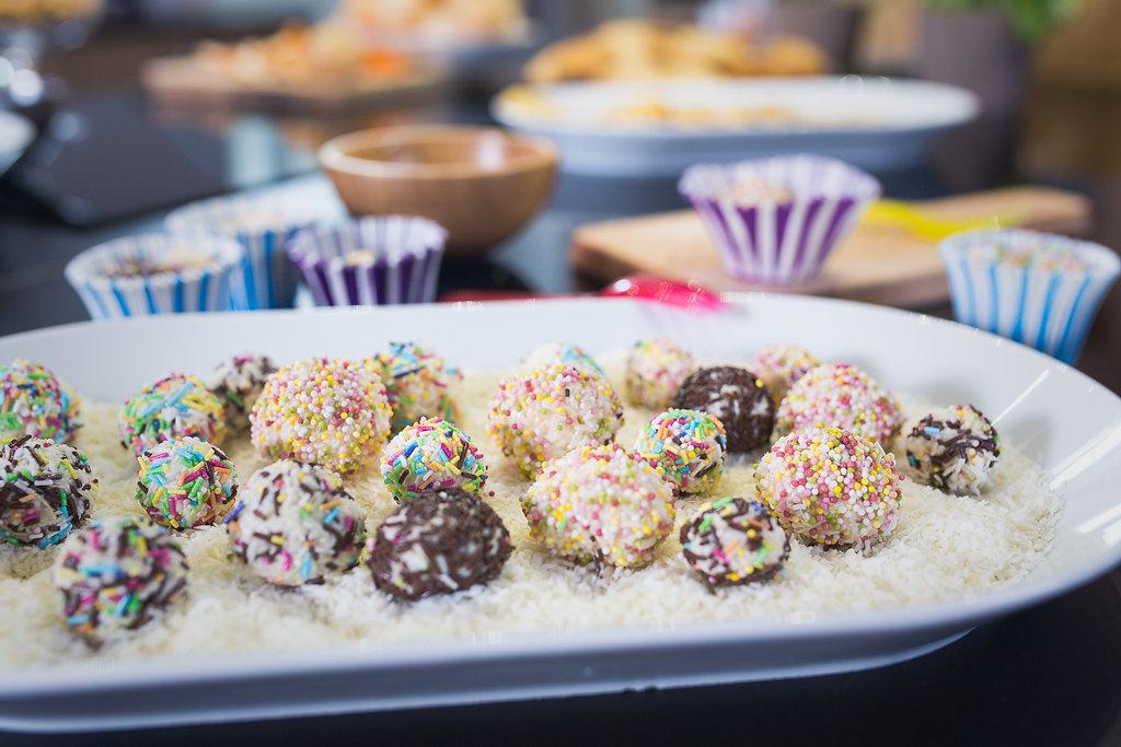 Gotowe brazylijskie słodkości